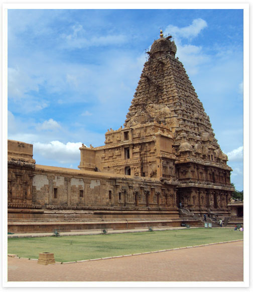 Golden Chariot Thanjavur
